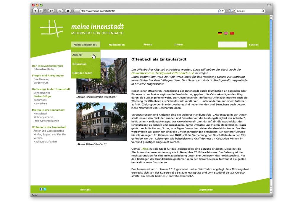 Inge offenbach grafikdesign typografie und gestaltung for Offenbach design