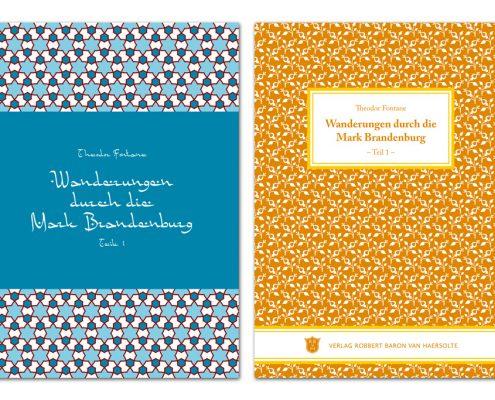Buchdesign Titel »Orientalisch« und »Klassisch« für Verlag Robbert Baron van Haersolte, Offenbach