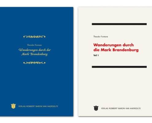 Buchdesign Titel »Klassisch« und »Bauhaus« für Verlag Robbert Baron van Haersolte, Offenbach