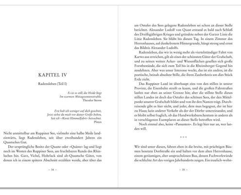 Buchdesign »Klassisch« für Verlag Robbert Baron van Haersolte, Offenbach