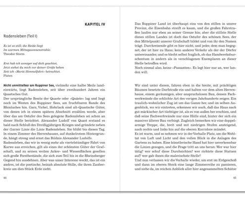 Buchdesign »Modern« für Verlag Robbert Baron van Haersolte, Offenbach