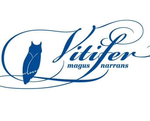 Logodesign für »Vitifer – Magus Narrans«, Berlin