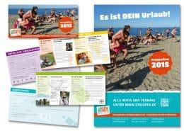 Design Programmfolder und Poster Freuzeiten Stajupfa Wiesbaden