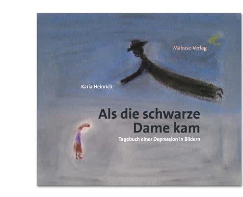 Buchdesign »Schwarze Dame« für Mabuse-Verlag, Titel