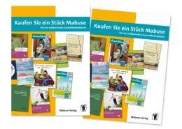 Design für Beteiligungsprospekt Mabuse-Verlag, Titelseite