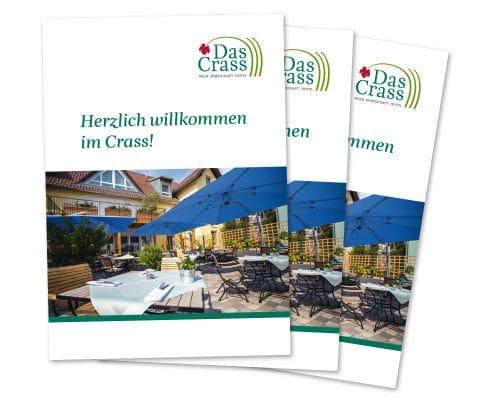Imagebroschüre für Das Crass, Titelseite