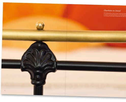 Katalog Eisenbetten.de, Bett Charlotte Detail