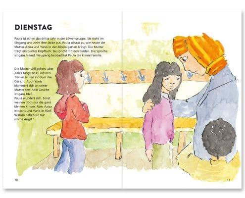 Mabuse-Verlag Kinderfachbuch Yunis und Aziza, Seite 10/11