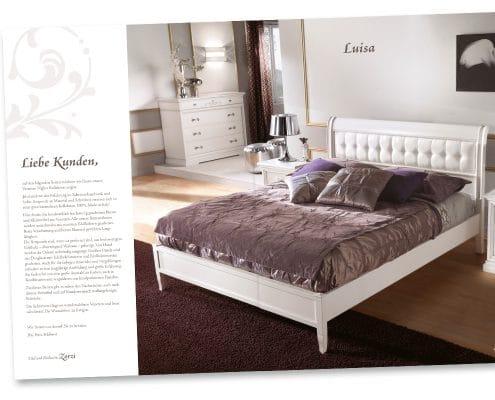 Perfect Nights Katalog Kollektion »Venetian Nights«, Bett Luisa