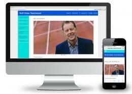 Website Wolf-Dieter Poschmann stationär und mobil / responsive