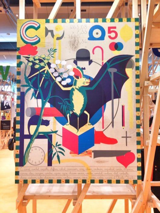 Buchmesse 2017: Illustration in Halle 1.1