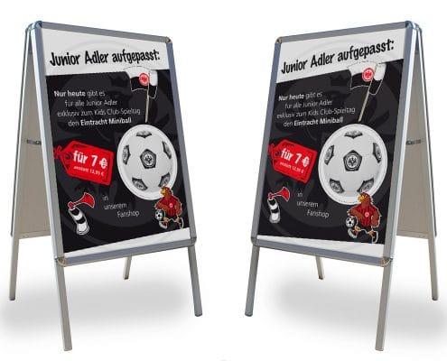 Eintracht Frankfurt Junior Adler: Poster zum Kids Spieltag