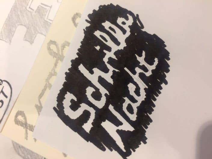 Lettering-Workshop in Essen: »Schrille Nacht«