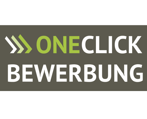 Logodesign für OneClick-Bewerbung