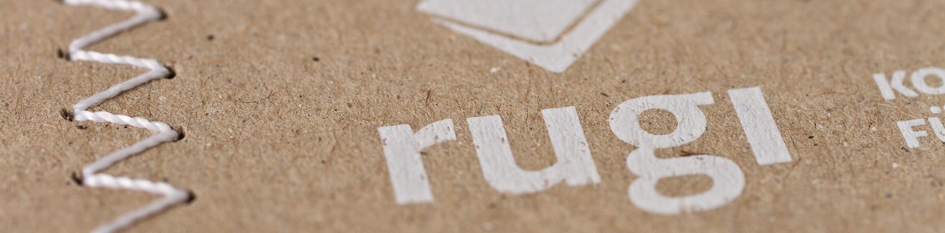 Weihnachtskarte für rugi Briefhüllen-Manufaktur