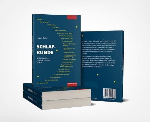Buchcoverdesign für Mabuse-Verlag, Titel »Schlafkunde«