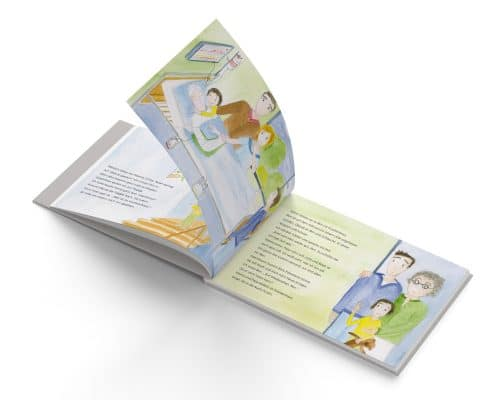 »Bens Sonnenblumen«, Mabuse-Verlag, Innenseiten