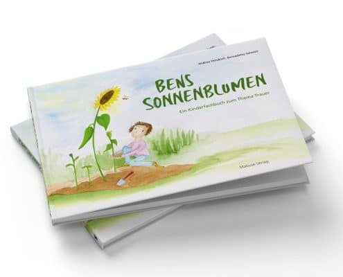 »Bens Sonnenblumen«, Mabuse-Verlag, Buchtitel