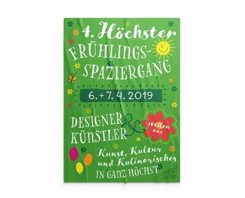 Poster für Höchster Frühlingsspaziergang 2019