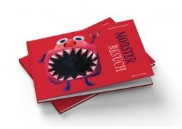 Umschlaggestaltung »Monsterbesuch« für Mabuse-Verlag