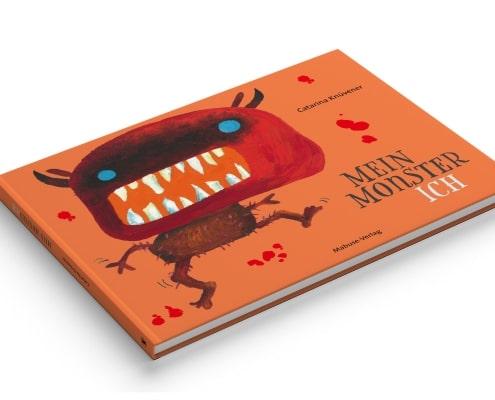 Umschlaggestaltung »MonsterIch« für Mabuse-Verlag, Vorderseite