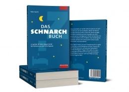 Gestaltung des Bucheinbandes »Das Schnarchbuch« für Mabuse-Verlag