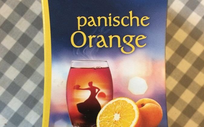 Teesorte »Panische Orange«