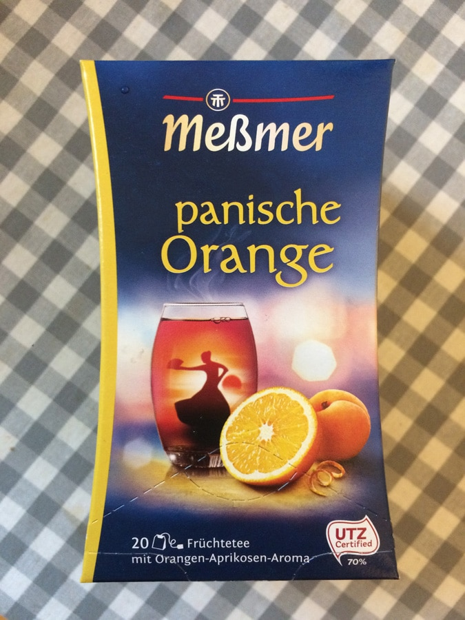Teesorte »Panische Orange«