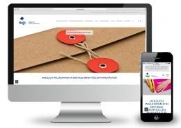 Webdesign für rugi Briefhüllen-Manufaktur, Rodgau – Ansicht für Monitor und Smartphone