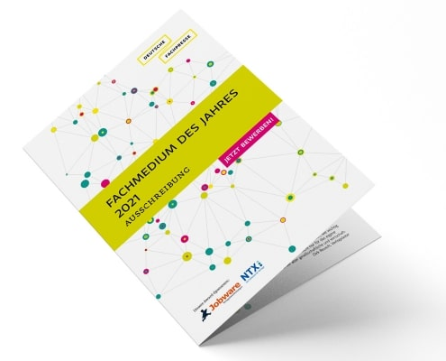 Ausschreibung »Fachmedium des Jahres 2021« der Deutschen Fachpresse, Titel