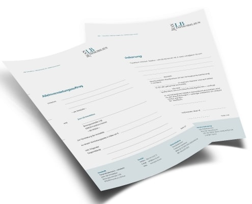Formulare für JeanLB Immobilien