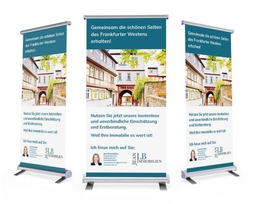 Roll-Ups für JeanLB Immobilien