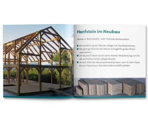 Imagebroschüre für »Naturgetreu GmbH«, Innenseiten