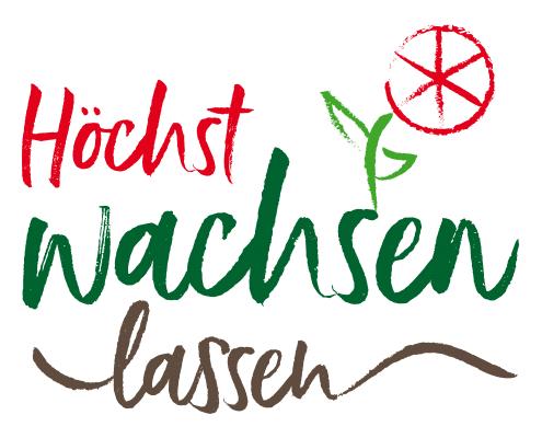 Logo für Urban-Gardening-Projekt »Höchst wachsen lassen«