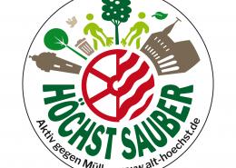 Logogestaltung für das Projekt »Höchst sauber«