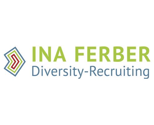 Logo-Redesign für Ina Ferber Diversity Recruiting