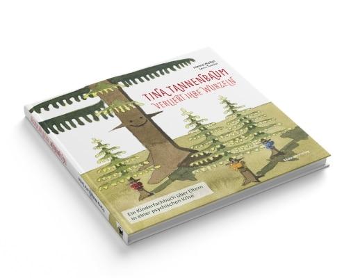 Buchgestaltung für »Tina Tannenbaum«, Titel